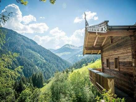 Bauernhaus in spektakulärer Alleinlage (Ski-in /Ski-out)