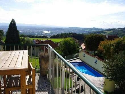 Wohnen am Land mit Linz und Alpenblick
