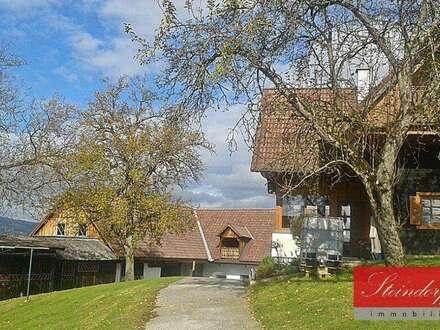 Top renoviertes Landhaus, Ein-bzw. Zweifamilienhaus in Stainz-Nähe mit schöner Aussicht