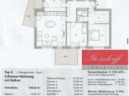 TOP6 Exklusive Neubauwohnung im Herzen von Deutschlandsberg in Ruhelage