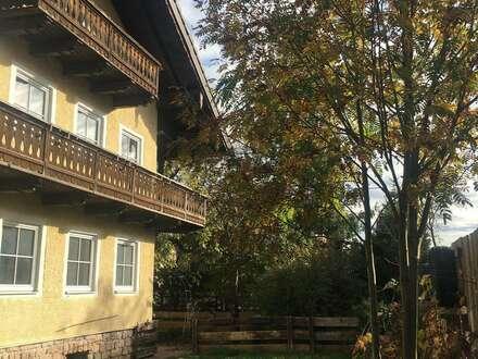 Haus mit großem Garten, Balkonen, Garage und Keller (2 getrennte Partein möglich) *Vollholzböden *Adnedter Marmor *Altbaumbestand…