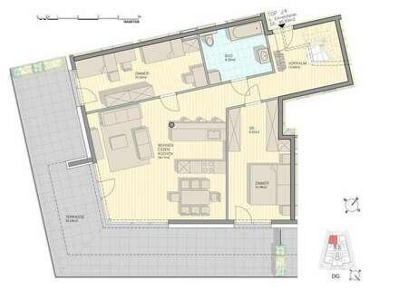 Penthouse-Wohnung mit einer unbeschreiblichen Kulisse...