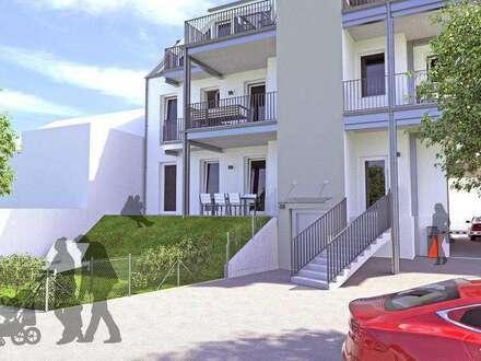 Neubau Stadtvillenwohnung | 65m² WFL + 10m² Balkon | Top 4 Var Obergeschoss