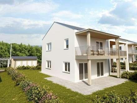 Neubau Doppelhaushälfte/ ca. 142m² Garten/ provisionsfrei für den Käufer!