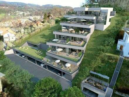 LUXUSPENTHOUSE TOP 2 MIT 135,55 m² WNF UND 97,05 m² SONNENTERRASSE AM REINERKOGEL IN GRAZ