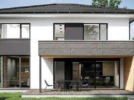 Bauplatz 2 mit Romberger Massivhaus