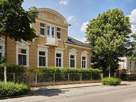 Villa mit Traumgarten im Zentrum von Baden