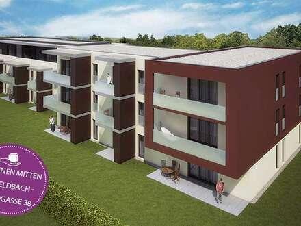 Zentrale Neubauwohnung mit Balkon in Feldbach! Provisionsfrei!