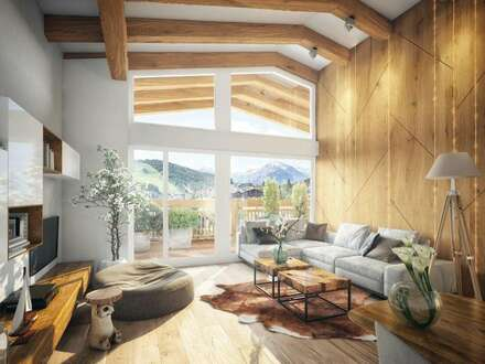 RESERVIERT Exclusives Penthouse-Ferienappartement in Top Lage in Seefeld