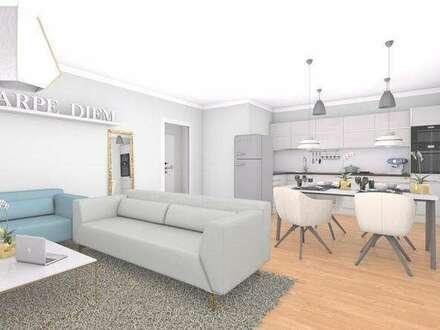 Neubau Dachgeschoßwohnung | 123m² WFL+56m² Dachterrasse & Balkon | Top 14