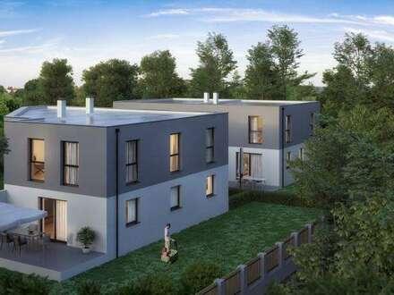 97m²-122m² mit Eigengärten und Terrassen! 2 Doppelhäuser in Ruhelage!