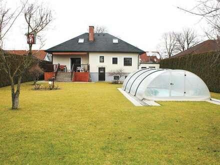 +++ mit 790 m² großem Garten und Pool +++ Einfamilienhaus in Weigelsdorf bei Baden +++