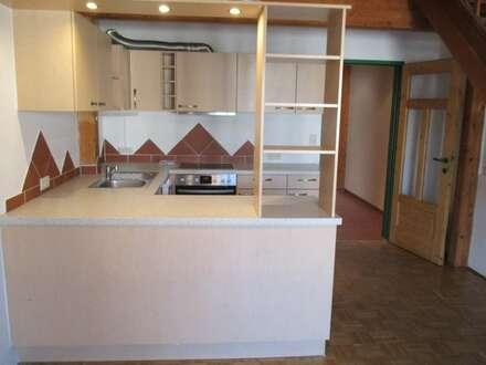 Maisonette mit Balkon und 3 Zimmer und Garage, PROVISIONSFREI