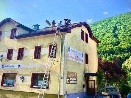 Traditionelles Gasthaus & Discothek mit großer Wohnung