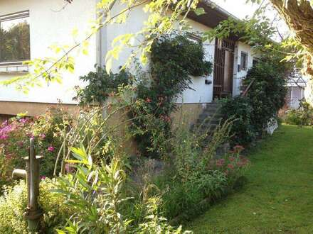 Haus mit schönem Garten