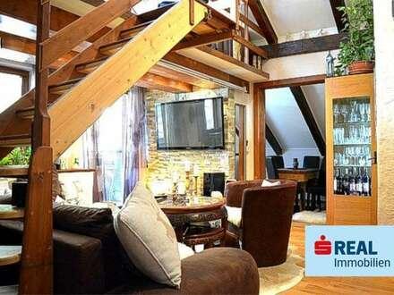 Charmante 3-Zimmer Dachgeschosswohnung mit schöner Aussicht