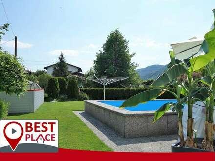 Sonniger Familientraum mit Pool und Wintergarten