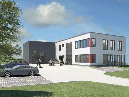 Hier entsteht: Nähe A2 Ilz - Bürogebäude mit Lagerhalle!
