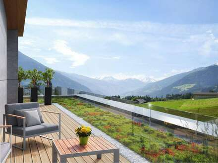 FGB1 - Wohnen am Sonnenplateau von Fügen / Zillertal - Haus A Top1