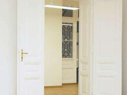 Repräsentative Büroräume mit Altbaucharme