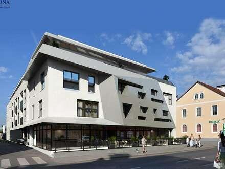 Geschäft, Büro oder Ordination in zentraler St. Peter-Lage ++ Individuell gestaltbar / barrierefrei ++ 163 m² / 39 m² Außenfläche…