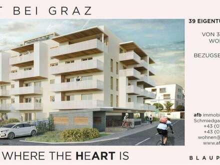 2 Zimmerwohnungen - direkt in Pachern/Hart bei Graz - Neubau - verschiedene Grundrisstypen verfügbar