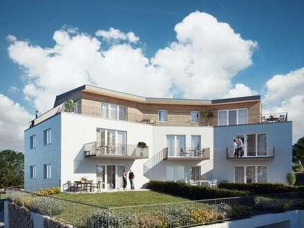 Neu gebaut! Traumhaft und exklusiv Wohnen im Grünen und doch nahe der Stadt!