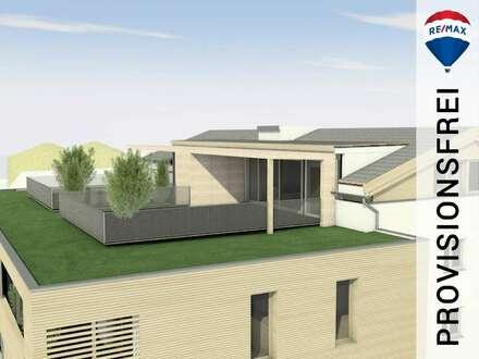 Neubau | 3 Zimmer Dachgeschoss-Wohnung mit ca. 64,50 m² Dachterrasse zum Wohlfühlen