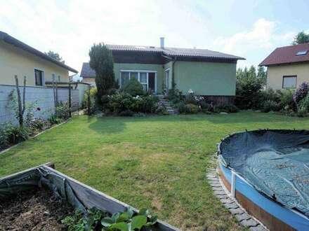 Einfamilienhaus mit schönem Garten in beliebter Wohngegend in Guntramsdorf!