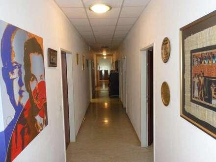 Büoräumlichkeiten mit Hallen-, Lager und Freiflächen zu vermieten!