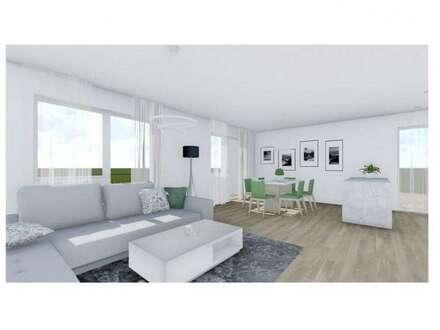Drei-Zimmer-Obergeschosswohnung mit Südbalkon und großzügiger Dachterrasse