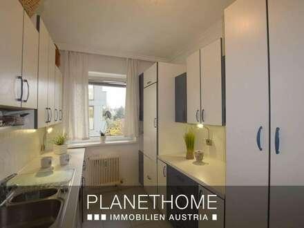 Leonding/zentrumsnah: Charmante Wohnung mit verglaster Loggia