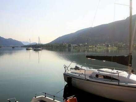 Ossiacher See: Ferienwohnung direkt am See und mit Hallenbad
