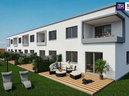 Idyllisches Wohnen am Wasser - Reihenhaus mit perfekter Raumaufteilung mit eigenem Balkon und schönem Eigengarten!