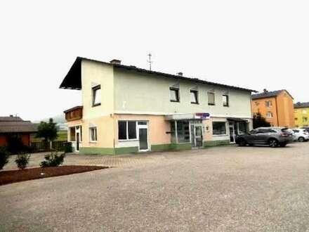 Wohn- und Geschäftshaus in Griffen mit großzügigem Grundanteil