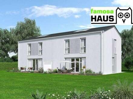 Kurz vor Fertigstellung: ziegelmassive Doppelhaushälfte mit Vollunterkellerung und Grundstück. TÜV-Austria baubegleitet!