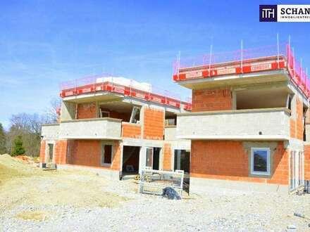 LICHTDURCHFLUTETES Terrassenhaus mit durchdachtem Grundriss + WEITBLICK + GARTEN + Carport