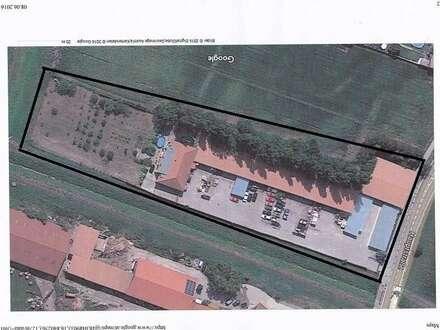 Gewerbeobjekt Bj. 2006 : Bürohaus + Hallen auf 7000 m² Grund Bestlage : 20 min . von Wien