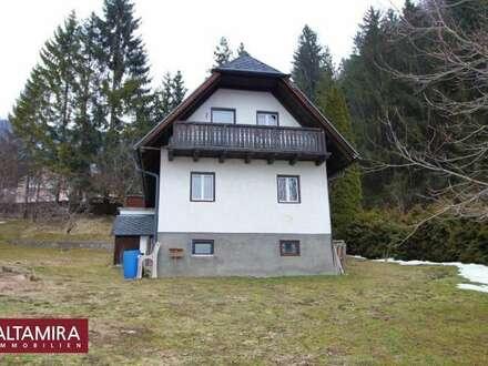 Liezen! Älteres kleines Wohnhaus am Waldrand sucht neue Eigentümer