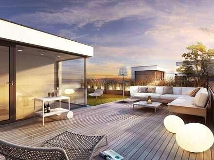 Provisionsfreie 3 Zimmerwohnung mit Dachterrasse
