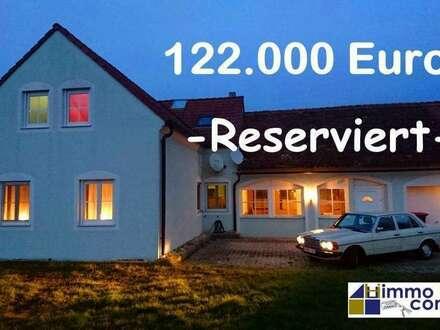Einfamilienhaus 7 Zimmer - 122.000 Euro, exkl. 37.000 € WBF