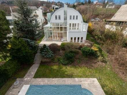 REPRÄSENTATIVE Villa mit gediegenem Wohnambiente in sensationeller Aussichtslage
