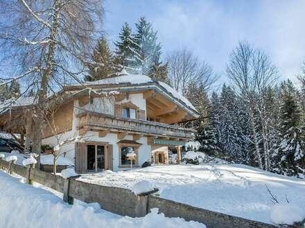 Romantisches Alpenchalet in sensationeller Berglage