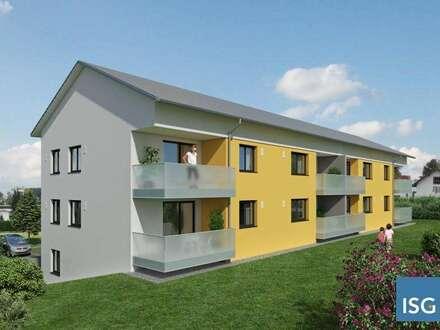 Neubauprojekt in Geretsberg, Dreizimmer-Eigentumswohnung Top 1
