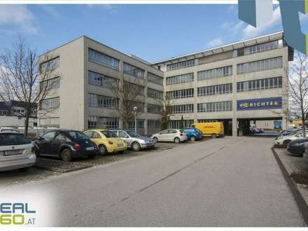 Toll aufgeteilte und helle Büroflächen in Pasching zu vermieten! TEILBAR