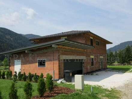 Moderner Neubau in ländlicher Idylle
