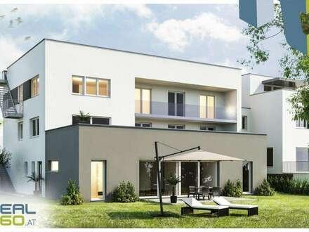 """Attraktive Neubau-Eigentumswohnung """"QUELLENWEG"""" mit großem Garten und eigenem POOL - ERSTBEZUG!!! (TOP1)"""