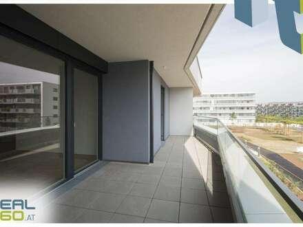 NEUBAU - 2-Zimmer Wohnung mit riesiger Wohnküche, Balkon und Badewanne - LENAUTERRASSEN!