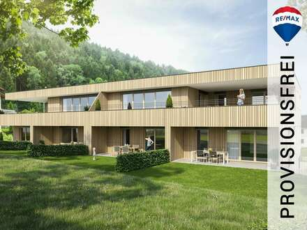 Neubau: 4 – Zimmer Eckgartenwohnung (Top 4) in Frastanz | grosszügiger Gartenanteil, 2 TG - Plätze
