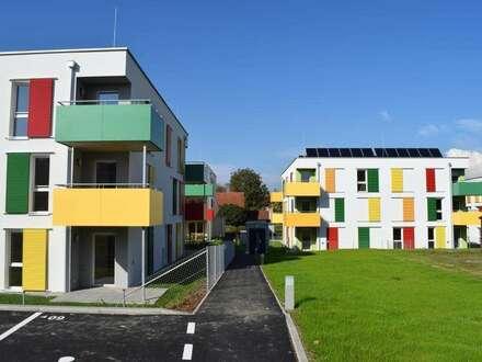 Glückliche Lage - Übersiedlungsmonat gratis - Mietwohnung mit Loggien/Terrassen/Eigengärten